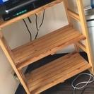 無料 木製シェルフ