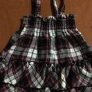 スカート 90  チェック
