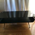 ガラステーブル(黒)