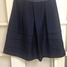 レディース スカート フォーマル 紺