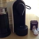 美品 Nespresso ネスプレッソ コーヒーメーカー&エアロチーノ