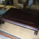 美品です★けやきの座卓/ローテーブル 150×90×37cm