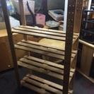 木製シェルフ(幅90センチ)