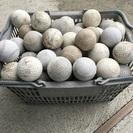 送込 軟式 軟球 ボール 100球+数球 カゴ付き