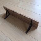 木製  棚  鉄 飾り 飾り棚  家具