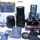 贅沢に入門♪新品 Canon キャノン EOS Kiss X7 W...