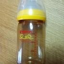 ピジョン プラスチック製哺乳瓶 一本