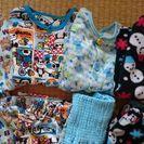 男の子のパジャマ(長袖、長ズボン、秋冬)