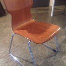 柔らかい木の椅子 でました