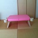 キャンプ用の折り畳みテーブル
