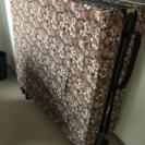 折り畳みベッド セミダブル