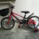 子供用自転車 16インチ クイックテイク / ブレイブ レッド