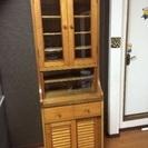 食器棚 キッチン 収納 細め 大容量 棚 食器