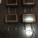 ヘッドレストモニター 4個セット