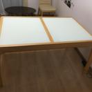 伸縮式ダイニングテーブル