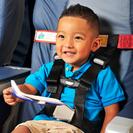 子供用シートベルト(飛行機用)