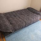 シングルサイズ ソファベッド 収納あり