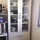ニトリ 食器棚 白