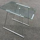 ガラステーブルセット