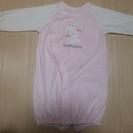 21、ベビー服 うさぎピンク サイズ50-60 (女の子用)