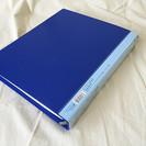 【美品】マルマン ルーズリーフファイル A4 30穴 ブルー F9...