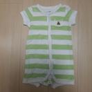 22、ベビー服 babyGap黄緑縞 サイズ60 (男の子用)
