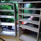 スチール製本棚さしあげます。
