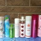 化粧水や制汗剤 整髪スプレー など