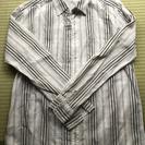 リバーシブルメンズシャツ