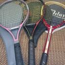 テニスラケット三本セット  ヤマハ、カワサキ  (値下げしました)