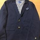 新品 紺色ジャケット