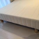 シングルベッド 脚付き