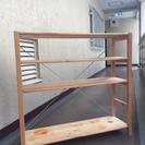 MUJI 無印 木製本棚