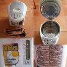 中古品 ピーコップPeacock電動給湯 ポット 3.0L