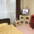 初期費用ゼロ♩保証人不要♩大阪城近くの家具付きマンスリーマンション...