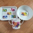 新品 ベビー食器セット マグカップ プレート 皿