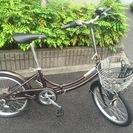 6段変速折り畳み自転車