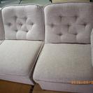 布張りのソファー