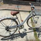 27インチ自転車 6段変速つき
