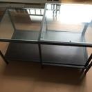 IKEA購入 ガラステーブルset
