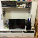 【交渉中】白い大型テレビボード
