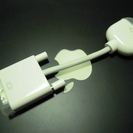 MacディスプレイDVI-VGA変換アダプタ