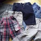 男の子 120 半ズボン 7枚