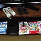 Wii(黒)(ソフト多数)