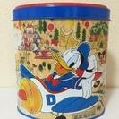 【引っ越しセール】ディズニー☆昔のクランチ缶