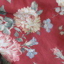 布団掛けカバー 中古品 花柄 2枚セット 同柄