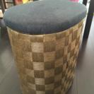 収納つき椅子/ サイドテーブル
