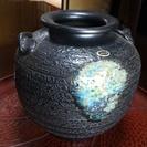 信楽焼花瓶 壺