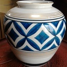 九谷焼花瓶 壺