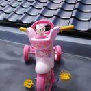 キティーちゃんの三輪車